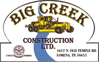BIG CREEK CONSTRUCTION LTD